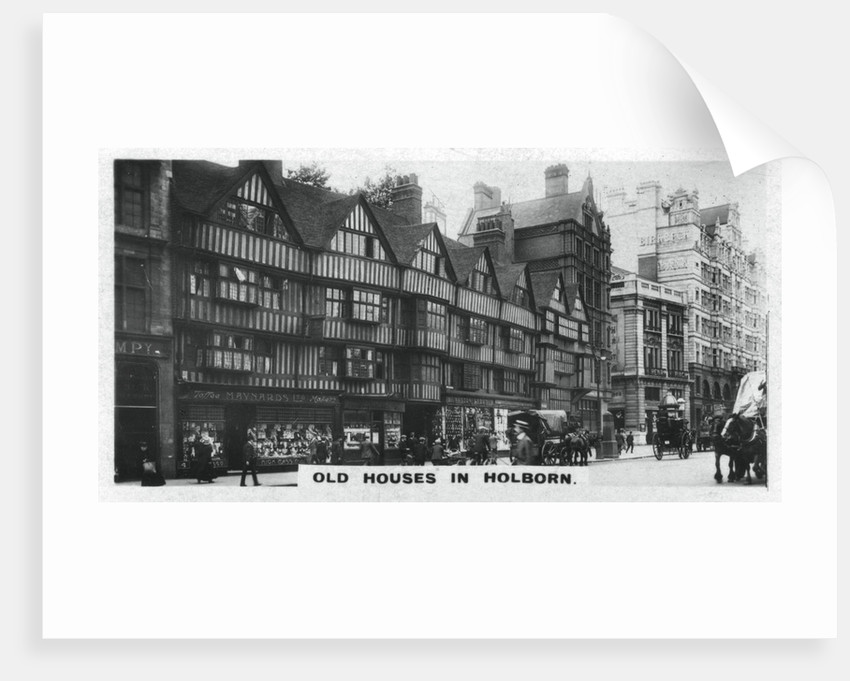'Old Houses in Holborn', London