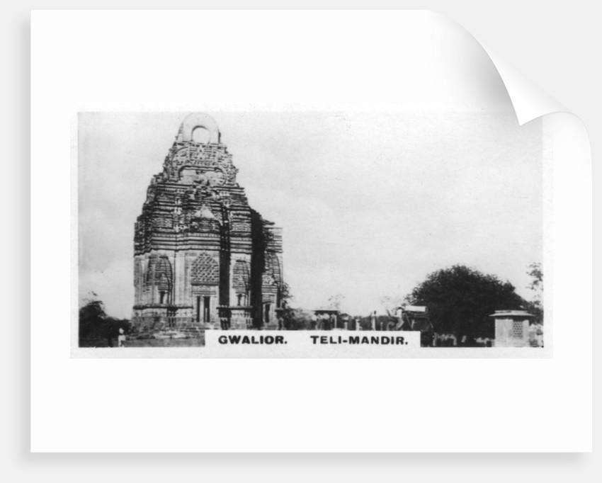 Teli-Mandir, Gwalior, India by Anonymous