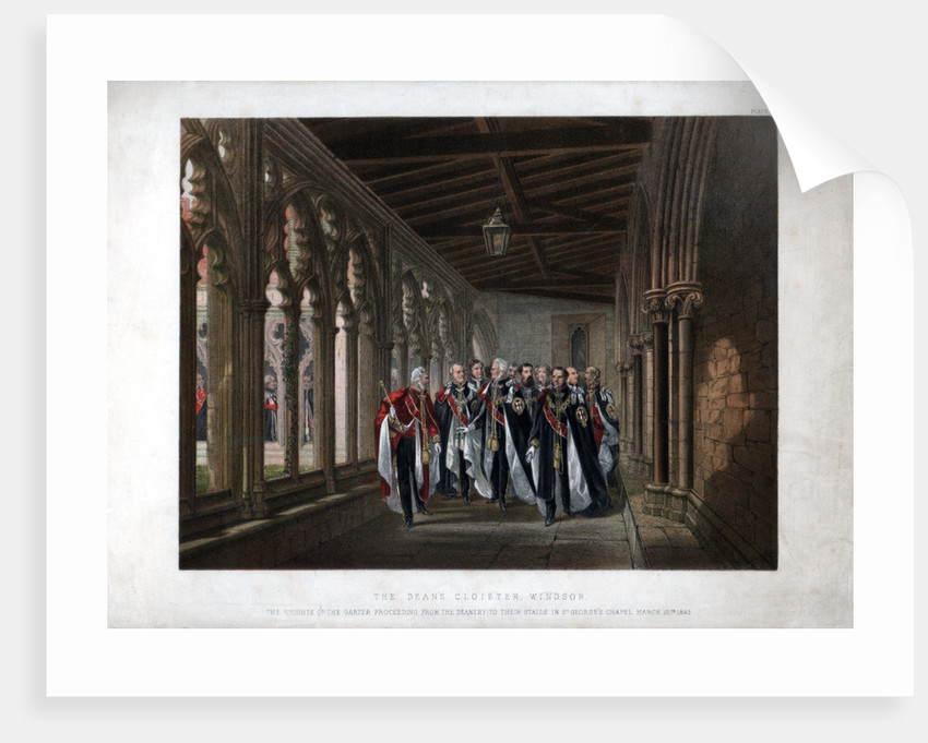 The Dean's Cloister, Windsor by Anonymous