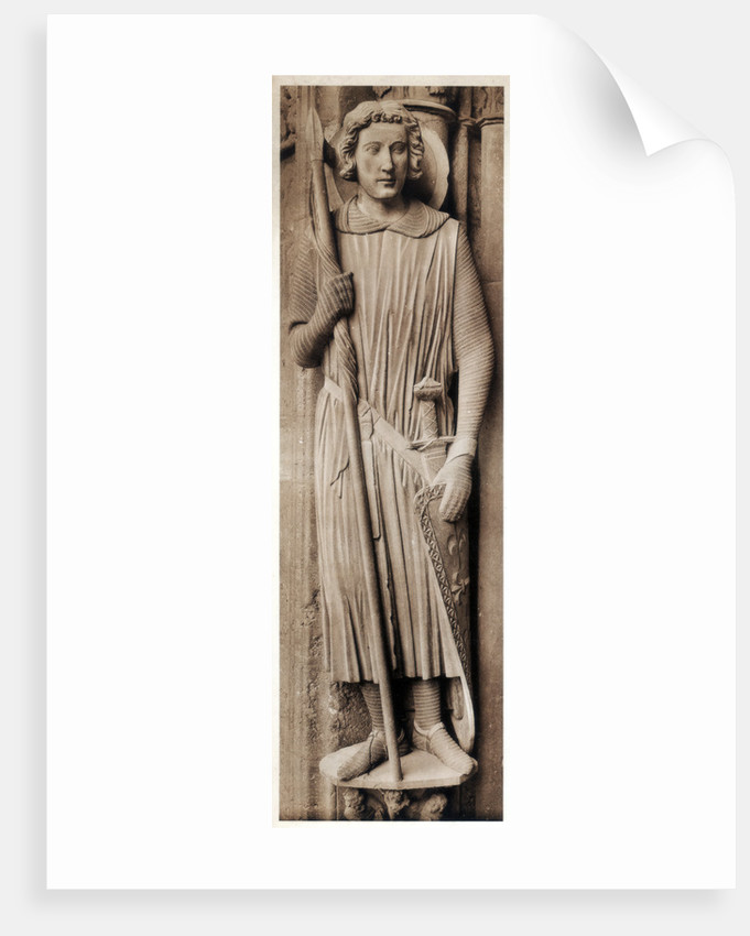 Saint Theodore, Cathedral of Chartres, France by Anonymous