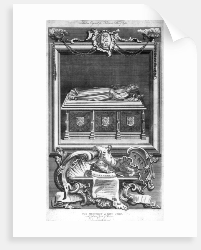 The Monument of King John of England, in the Cathedral Church of Worcester by Goldar