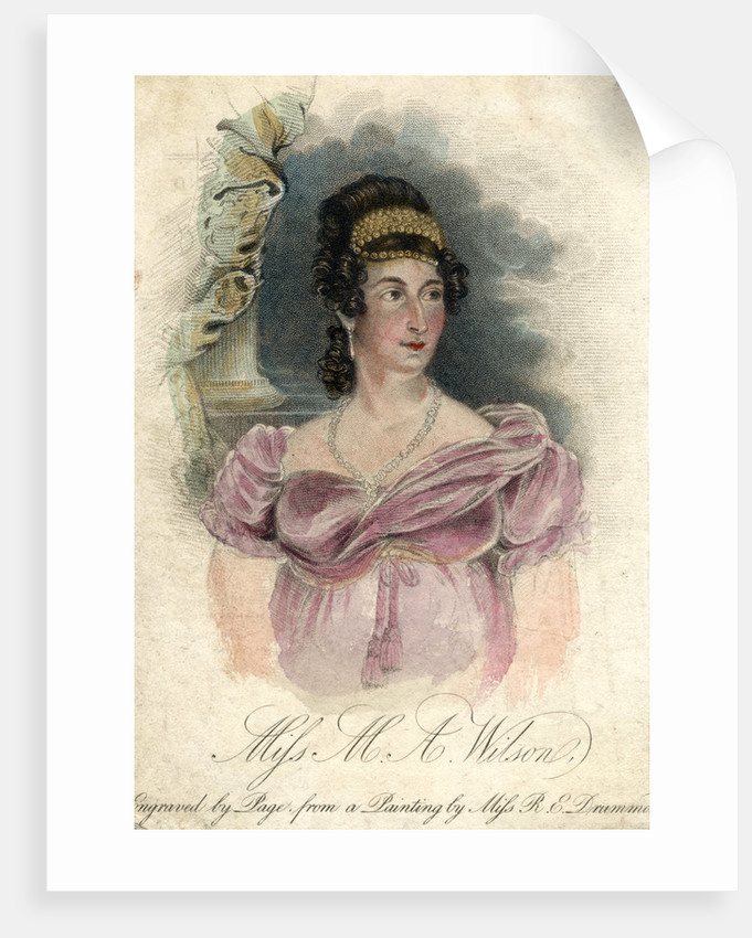 Miss M A Wilson by Rose Emma Drummond