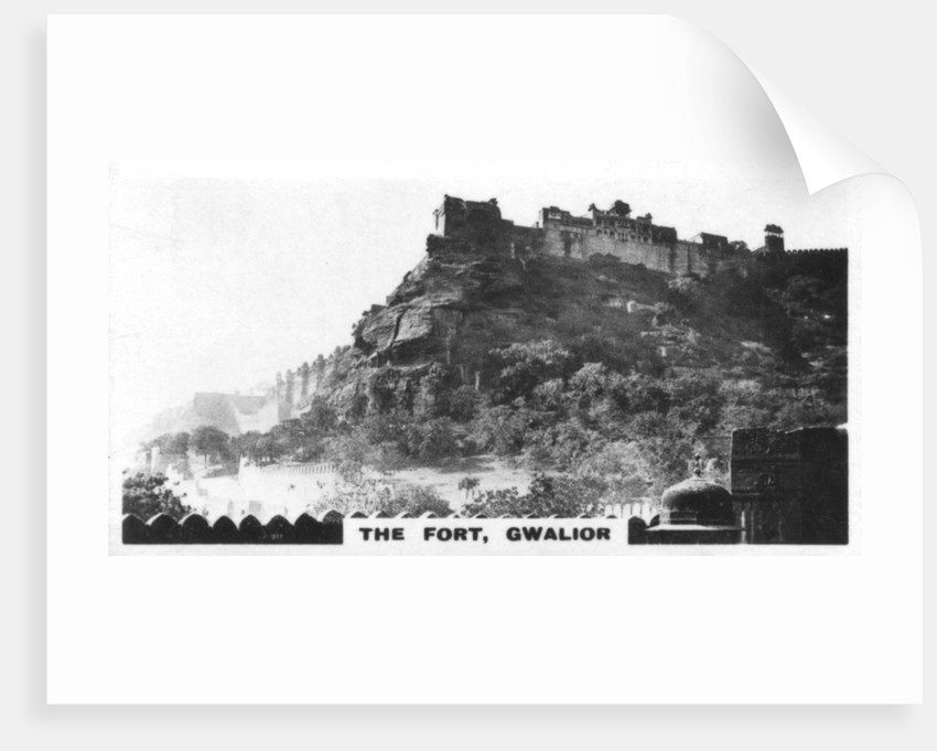 The fort, Gwalior, Madhya Pradesh, India by Anonymous