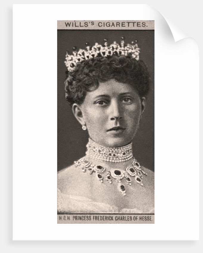 H.R.H Princess Frederick Charles of Hesse by WD & HO Wills