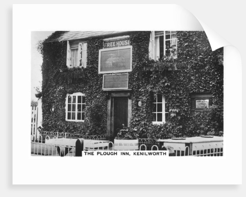 The Plough Inn, Kenilworth, Warwickshire by Anonymous