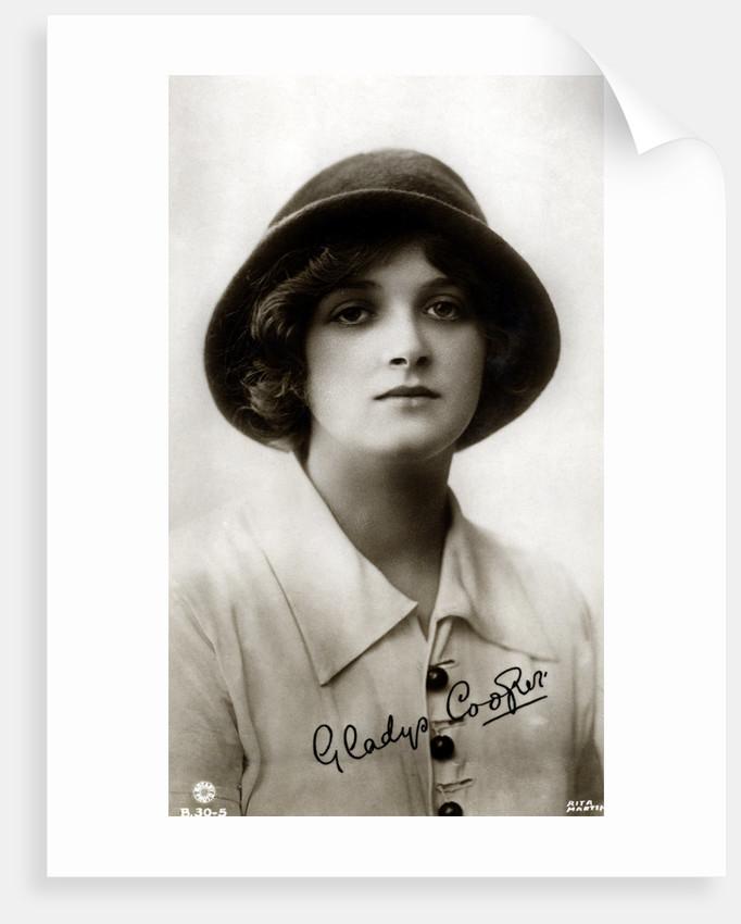 Gladys Cooper (1888-1971), English actress