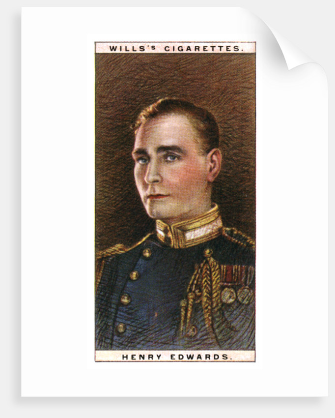 Henry Edwards (1882-1952), English actor by WD & HO Wills