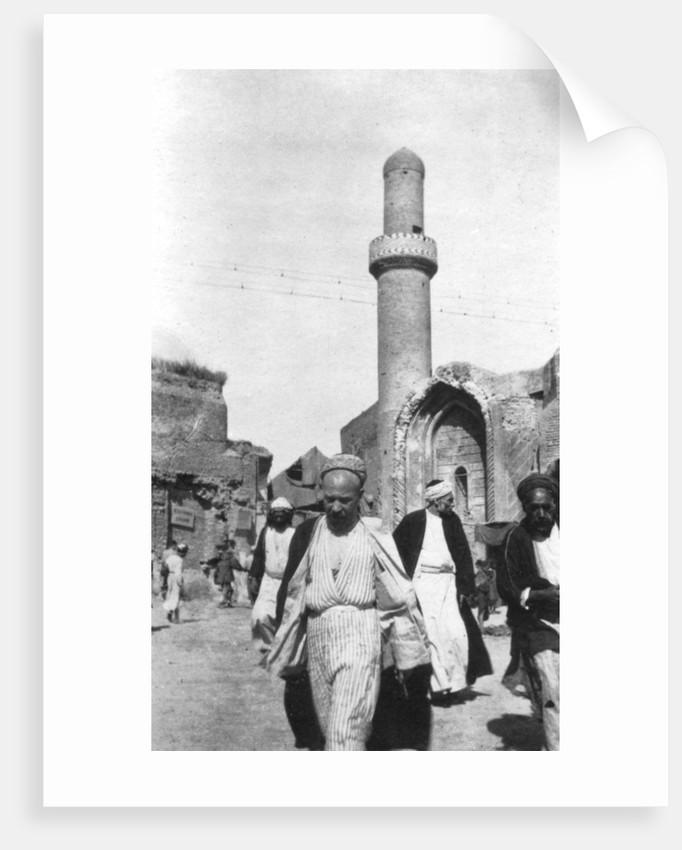 Arab street scene, Iraq by Anonymous