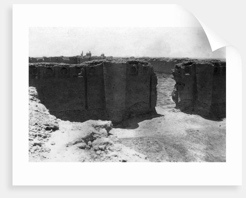 Samarra city from the Malwiya tower, Mesopotamia by Anonymous