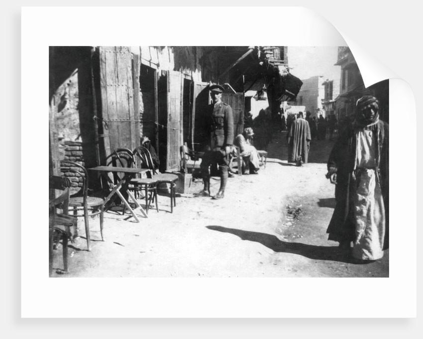 Baghdad bazaar by Anonymous