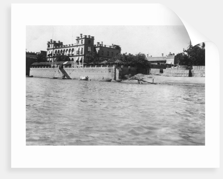British general headquarters, Baghdad, Mesopotamia, WWI by Anonymous