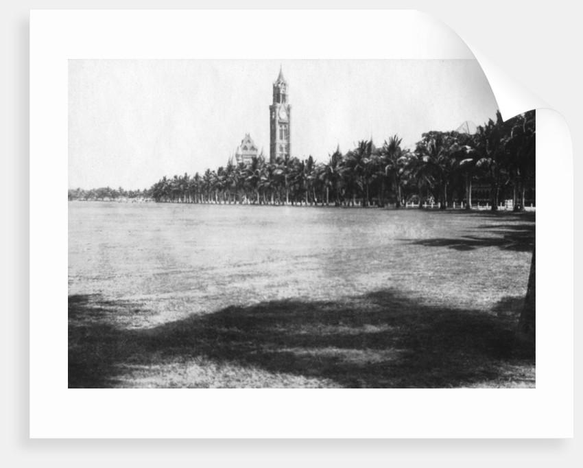 The Rajabai Tower, University of Bombay, India by Anonymous