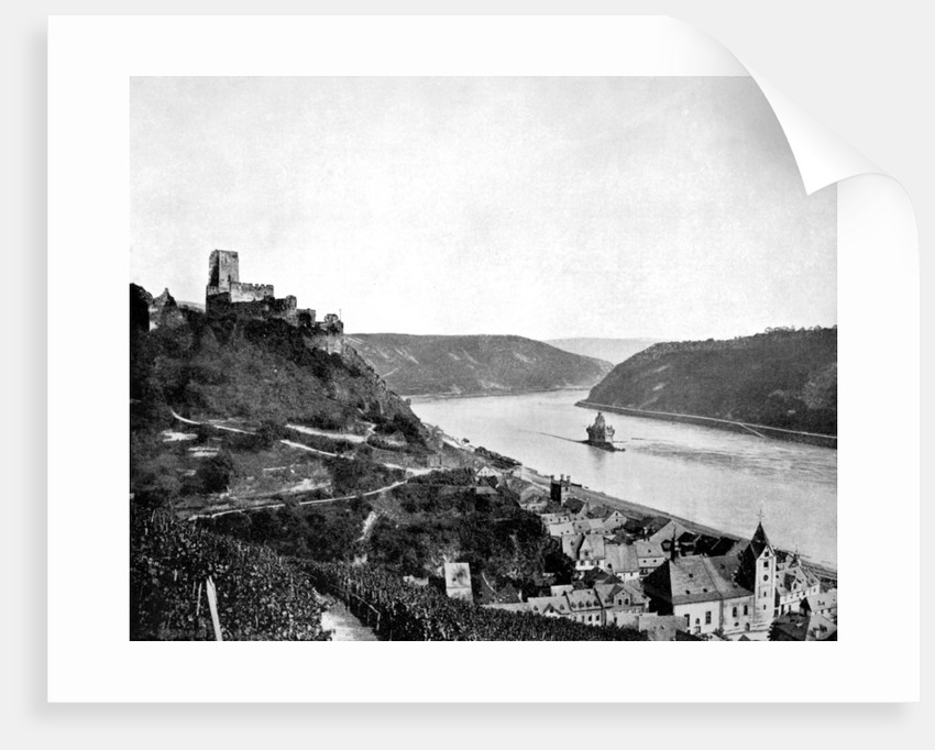 The Rhine, Gutenfels, and the Pfalz, Germany by John L Stoddard