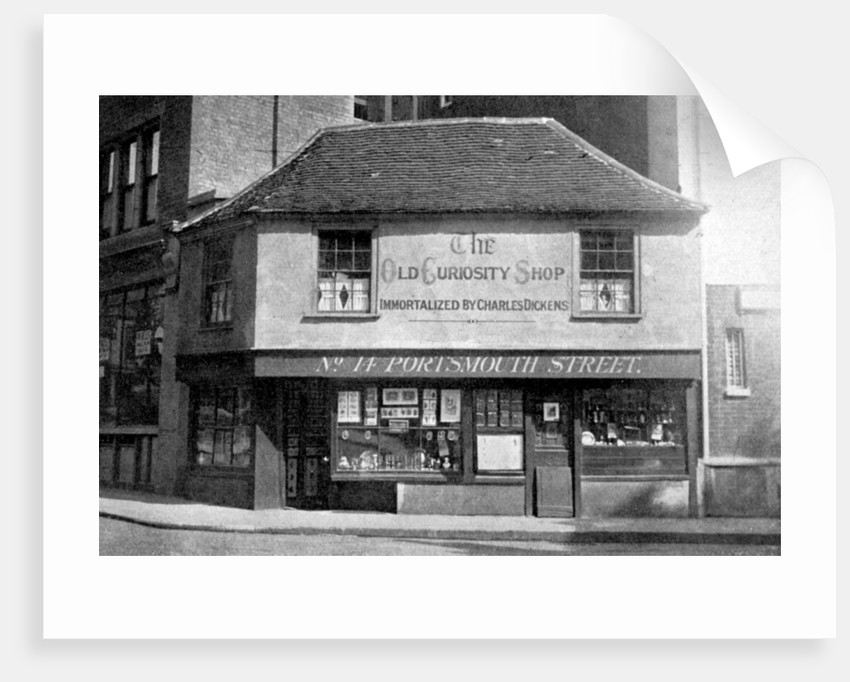 The Old Curiosity Shop, 13 Portsmouth Street, Kingsway, London