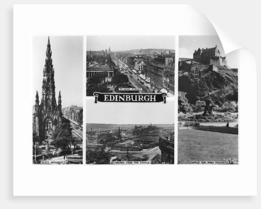 Edinburgh, Scotland by Anonymous
