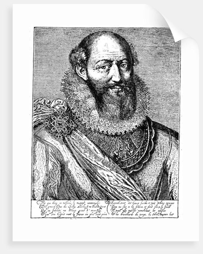 Maximilien de Béthune, duke of Sully by Anonymous
