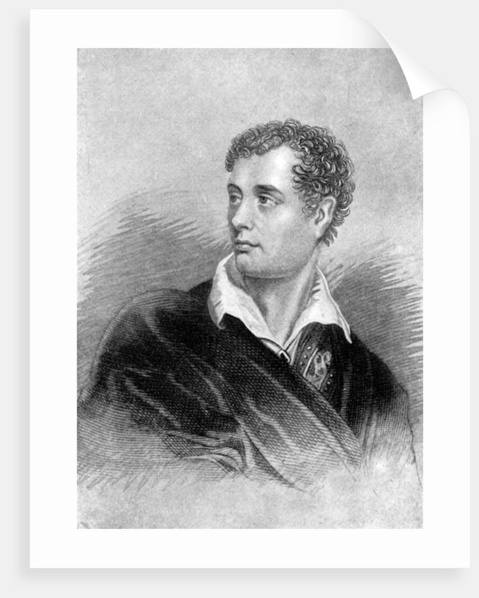 Lord Byron, Anglo-Scottish poet by Anonymous