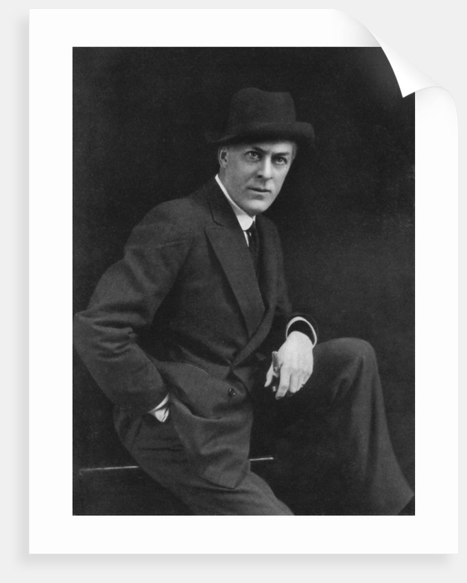 Sir George Alexander (1858-1918), theatrical actor-manager by Alfred Ellis & Walery