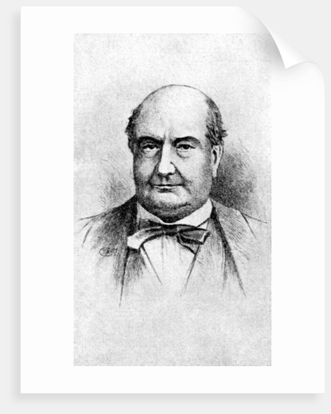 'Charles Augustin Sainte-Beuve', French 19th Century Critic by Anonymous