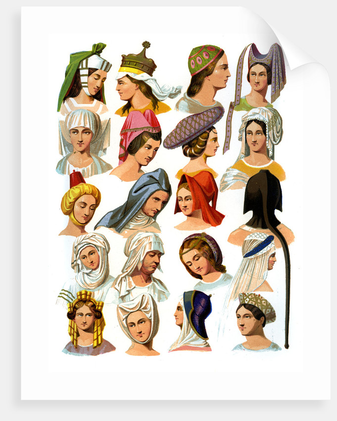 17b861629f010 Women s hats of different classes of society posters   prints by ...