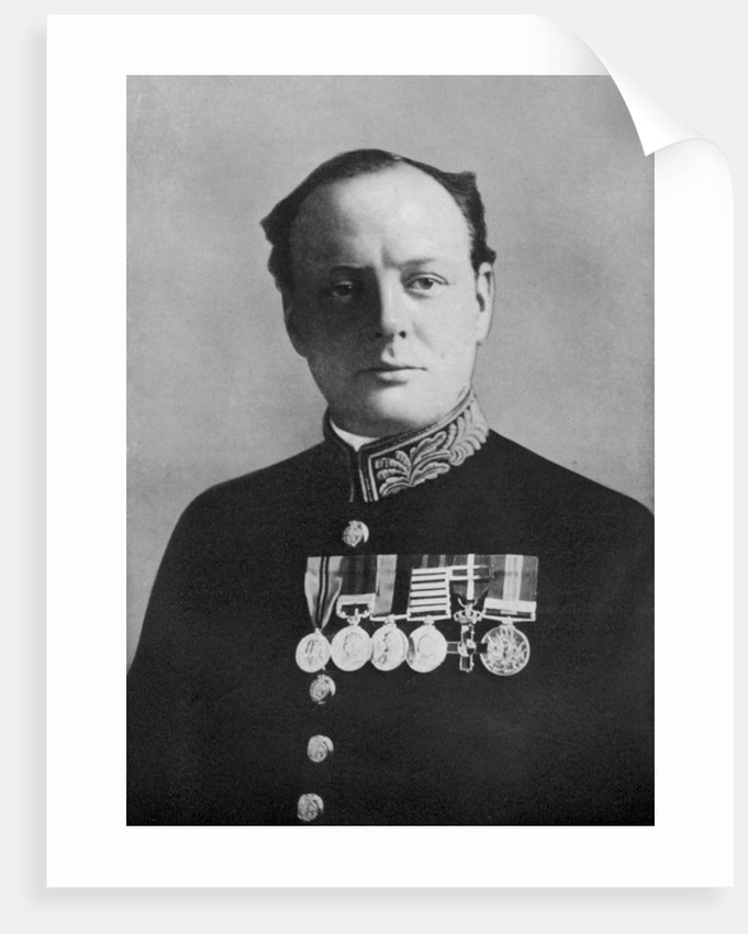 Winston Churchill, First Lord of the Admiralty by Elliott & Fry