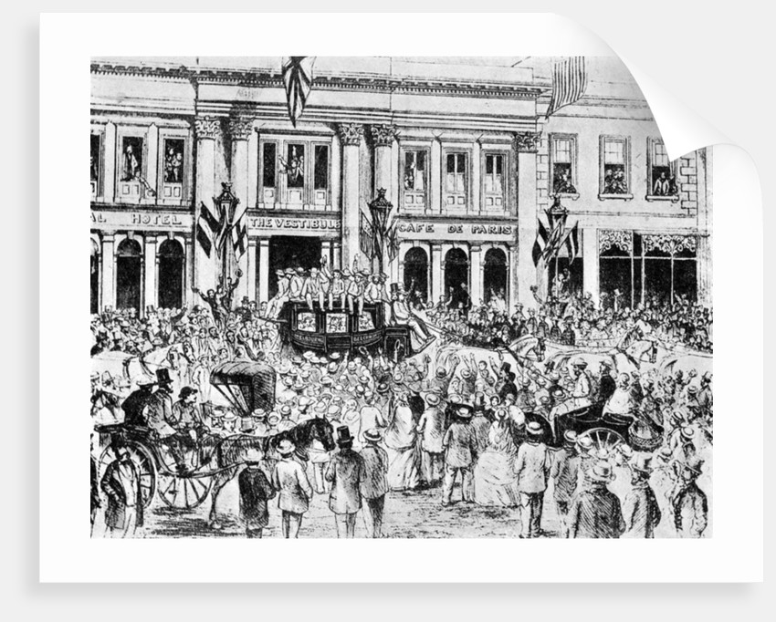 The arrival of the first english cricket team in australia by anonymous