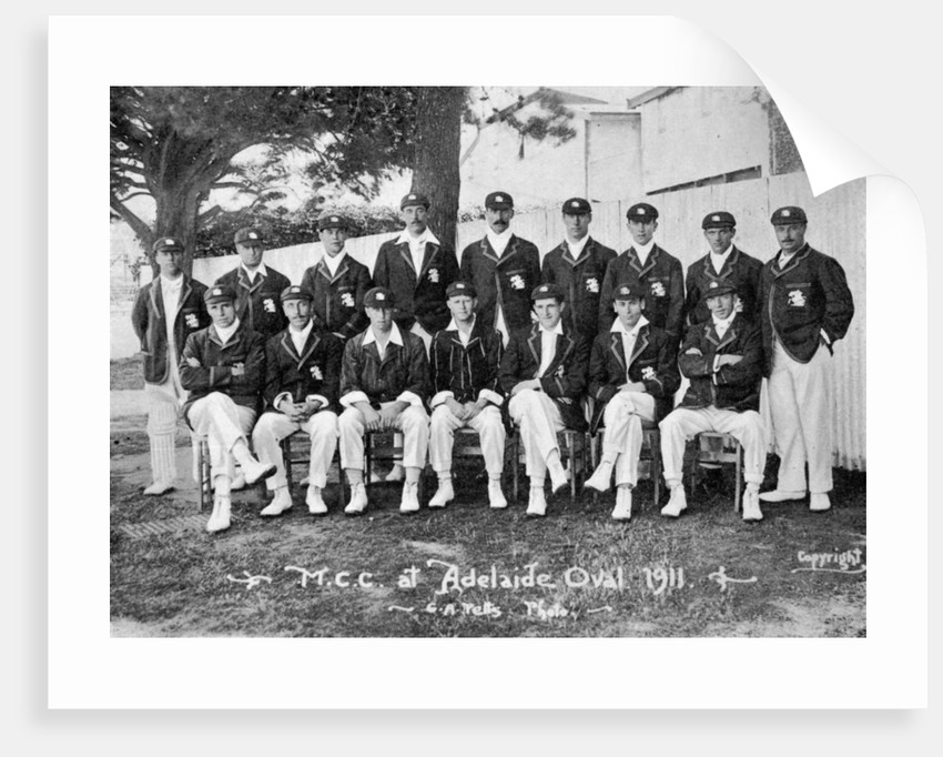 The Australian-touring English cricket team of 1911-1912 by CA Petts