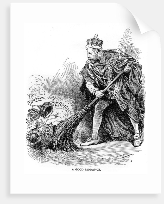 'A Good Riddance', First World War by Anonymous