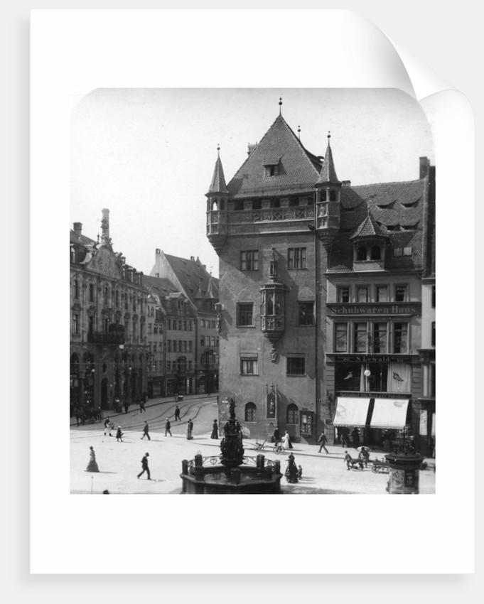 Nassauer Haus, Nuremberg, Bavaria, Germany by Wurthle & Sons