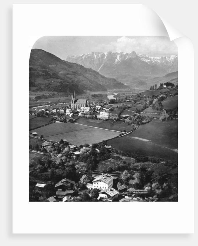 St Johann in the region of Pongau, Salzburg, Austria by Wurthle & Sons