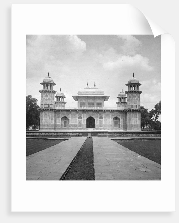Itmad-Ud-Daulah's Tomb, Agra, India by H Hands & Son