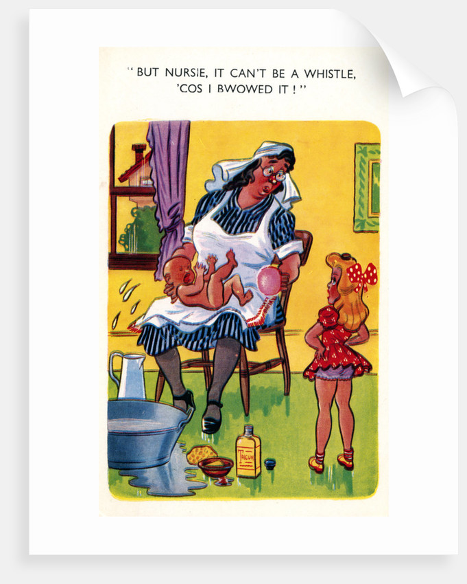 A saucy postcard by Anonymous