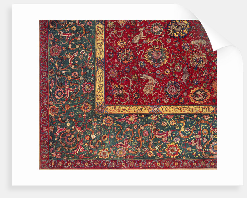 Persian carpet by Anonymous