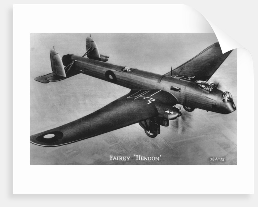 Fairey Hendon by Anonymous