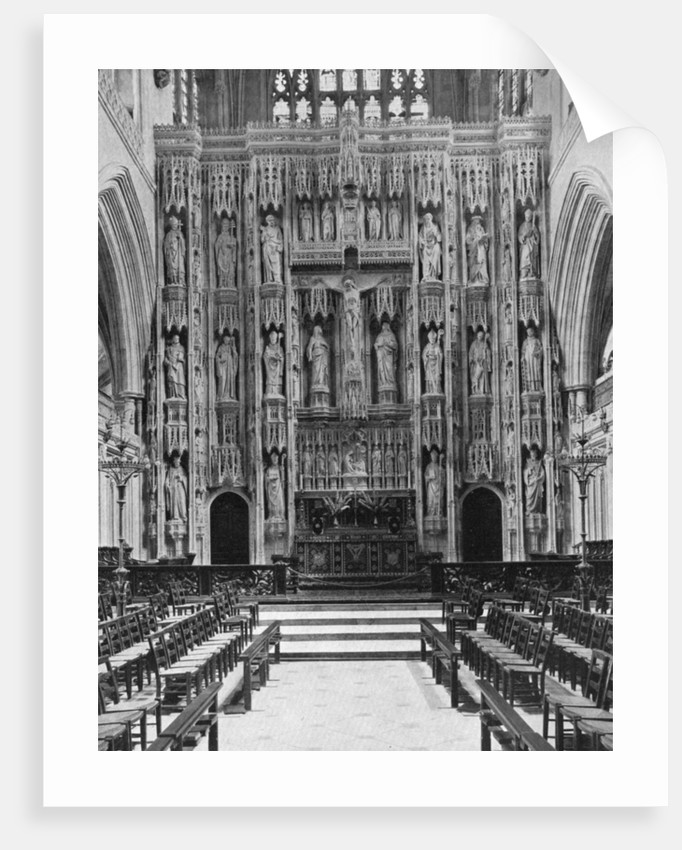 The reredos of Winchester Cathedral by Anonymous