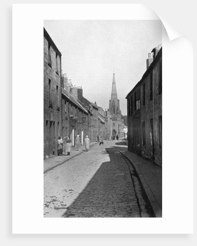 An old street near Wallace Green, Berwick-upon-Tweed, Northumberland by AR Edwards
