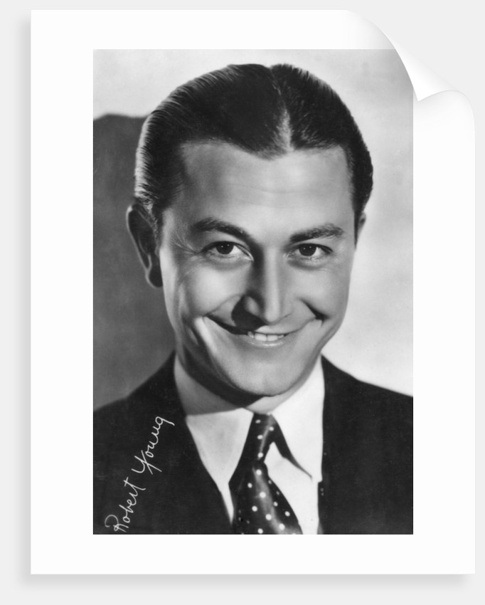 Robert Young, American actor by Metro-Goldwyn-Mayer