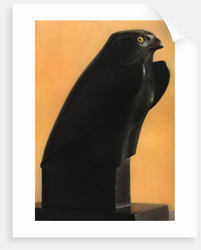 A Horus falcon, c600 BC by Anonymous