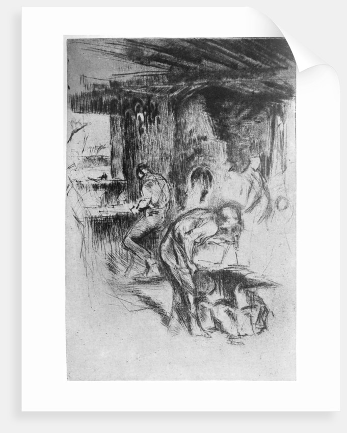The Little Forge by James Abbott McNeill Whistler