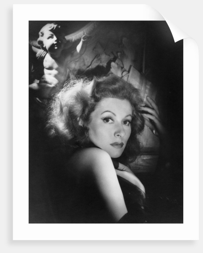 Greer Garson, British actress and film star by Laszlo Willinger