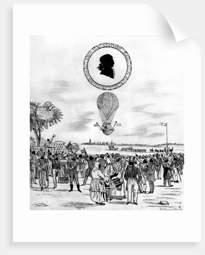 'Blanchard's Balloon' by Anonymous
