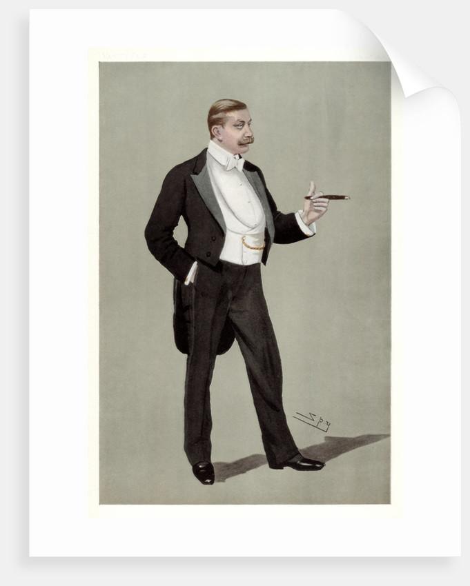'A German Attache', Baron Hermann von Eckardstein, German diplomat by Spy