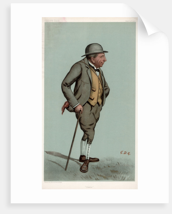 'Charlie', Captain Charles Harold Longfield Beatty DSO, British racehorse trainer by GDG