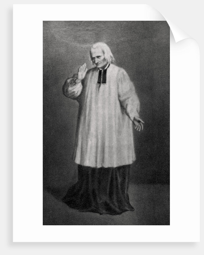Jean-Marie Vianney, Cure d'Ars, French priest by Anonymous
