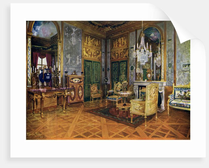 Salon de musique of marie antoinette chambre a coucher for Poster xxl chambre