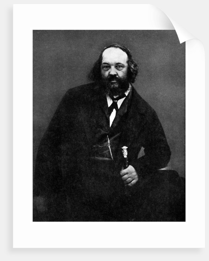 Anarchism mikhail bakunin russian anarchist by anonymous