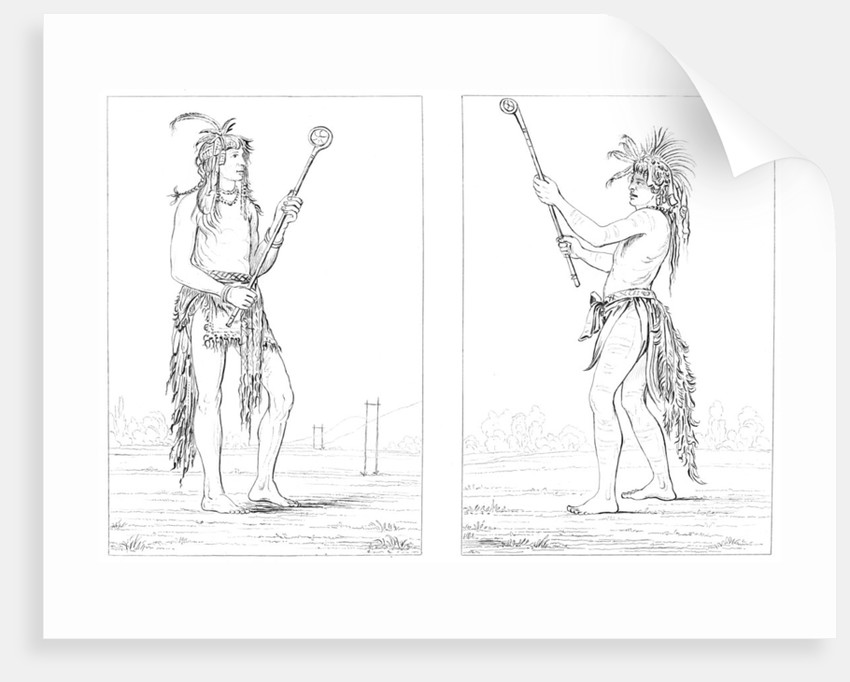Sioux ball players by Myers and Co