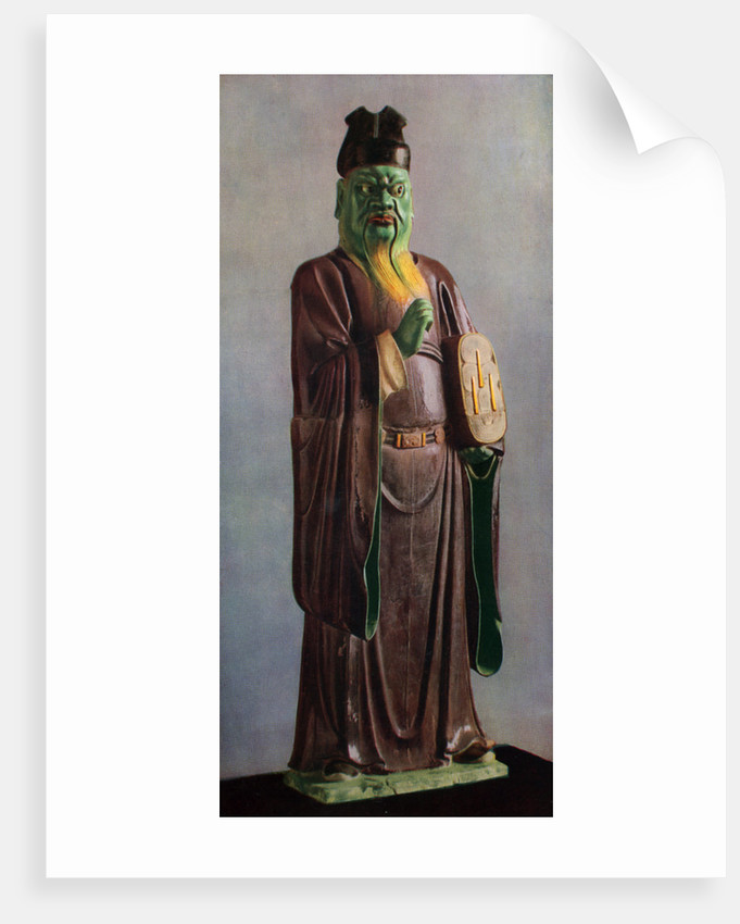 Statuette of a Judge of hell, Chinese, middle Ming dynasty by Anonymous