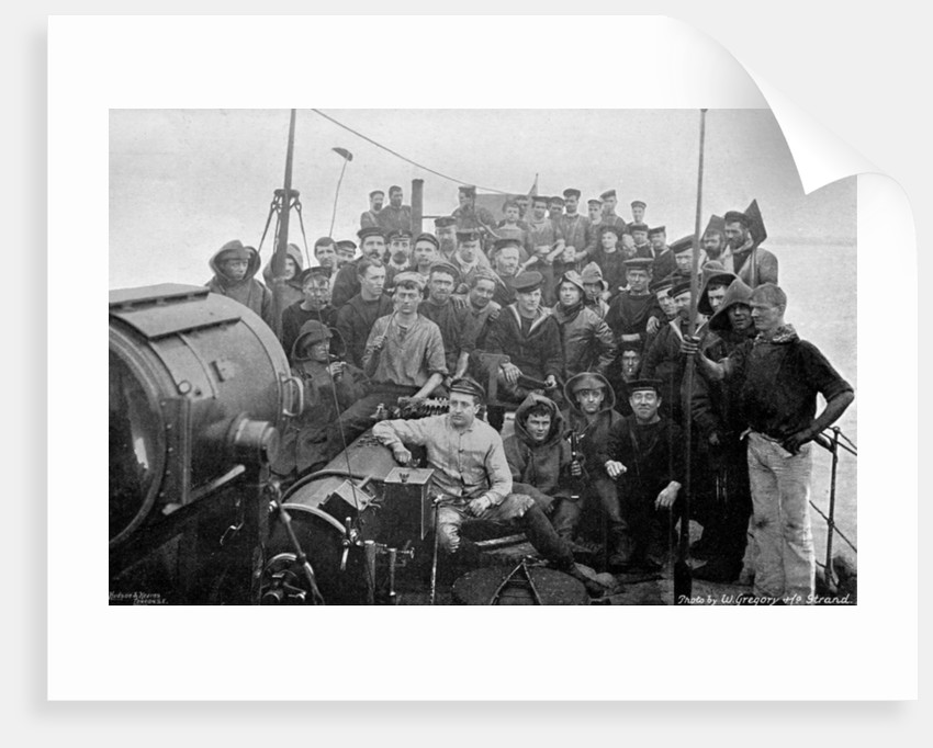 On board the torpedo-boat destroyer HMS Sturgeon by W Gregory
