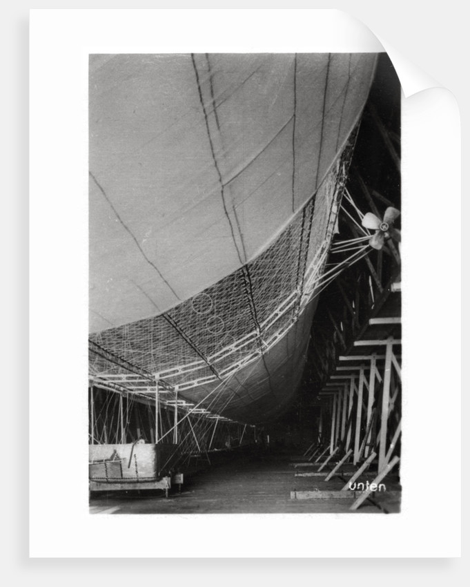Airship LZ1 'Graf Zeppelin' under construction by Anonymous